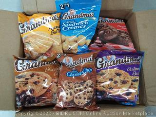 30 count grandma's cookies mix box