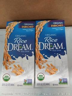 2-pack organic rice dream rice drink