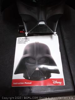 Star Wars 9757 Darth Vader Capacity Ultrasonic Cool Mist Humidifier, 2 L (powers on)