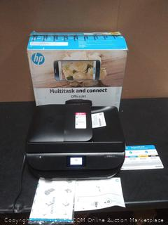 HP multitask and connect Officejet portable prints 5255 (missing starter ink cartridges) (powers on)