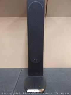 Pioneer SP-FS52 Andrew Jones Designed Floor standing Loudspeaker(New retail price $194).  (See Photos of chip on base and cut on side)