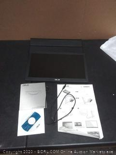 "Asus MB169B+ 15.6"" LED LCD Portable Monitor - 16:9 - 14 ms (powers on) (MRSP $169+)"