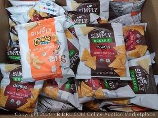 36 count simply Doritos and Cheetos mix