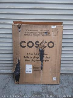 COSCO 6 ft. Rectangular Folding Outdoor Table - Black