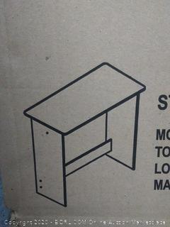 Furinno Simplistic Study Table, Columbia Walnut, 14035CWN