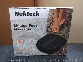 nekteck Shiatsu foot massager(powers on)