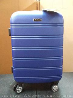 "Melbourne 20"" Expandable Carry On Hard Luggage ABS - Blue"