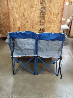 OmniCore Designs MoonPhase Home-Away-Loveseat Heavy Duty Oversized Folding Double Camping Chair