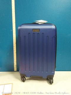 """heritage 20 """" luggage small scuffs on back and handle"""