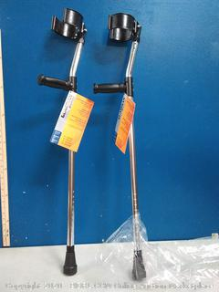 Guardian forearm crutches adult