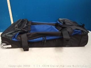 amazonbasics rolling duffel bag Navy