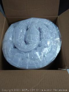 Lucid 5 Zone lavender memory foam mattress topper 2in Cal King (online $69)