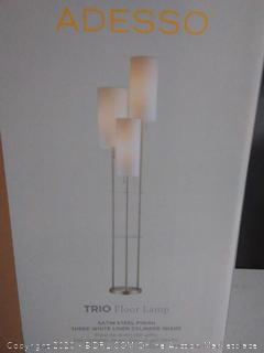 "Adesso 4305 Steel Trio 3-Light 68""H Floor Lamp (online $101)"