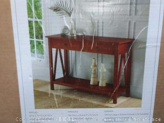linon home decor product console table antique