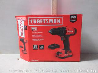 CRAFTSMAN V20 20-Volt Max 1/2-in Cordless Drill (Makes Grinding Noise)