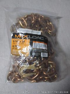 "Max Load 36503.0 Truckers Chain (5/16"" X 20)"