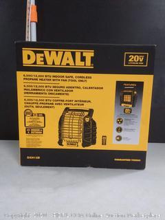 DeWalt F332000 DXH12B Cordless Propane Radiant Heater (online $189)