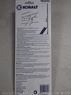 Kobalt Siding Removal Tools Plastic Steel Blue Vinyl Non Slip Grip