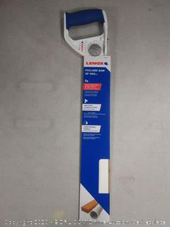 Lenox 20980 HSF18 18 Inch Handsaw Pvc Blade And Handle