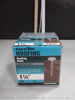 roofing nails 1 1/4