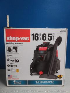 Shop-Vac 16-Gallon 6.5-HP Portable Wet/Dry Shop Vacuum (Missing All Cleaning Tools)