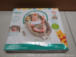 Disney baby bright starts Deluxe plush fabric bouncer