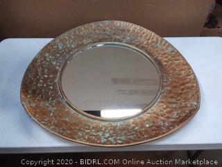 Zuo decor Irma mirror gold