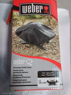 Weber Q 100/1000 Grill Cover - 7110