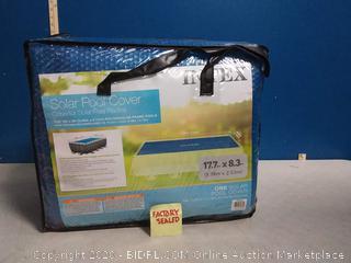 Intex 9'x18' Swimming Pool Solar Heating Cover