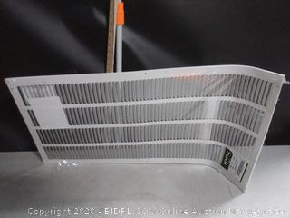 "HVAC Premium Return Air Grille 16"" x 32"""