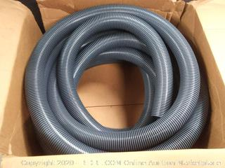 "50 Ft. Grey Foot Vaccum Hose - 2"" Diameter"