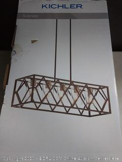 Solander 5 Light Linear Chandelier Olde Bronze (online $279)