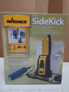 Wagner smart sidekick multi-room powered roller for continuous painting(powers on)