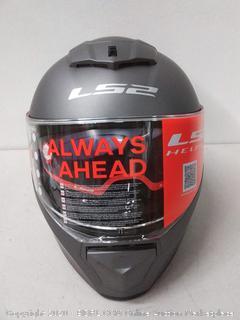 Breaker Bike Helmet - Solid Matte Titanium size Extra Large(Retails $159)