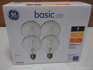 GE basic LED light bulbs for bulbs