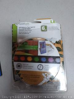 Good Earth self adhesive tape light kit