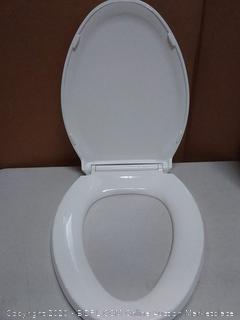 Heller night light adjustable light setting toilet seat 18 5/8 in (needs Hardware)