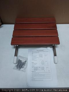 folding seat for wall attachment