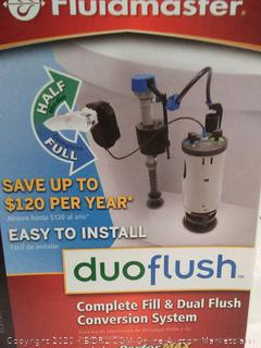 Fluidmaster DuoFlush Complete Fill and Dual Flush Conversion