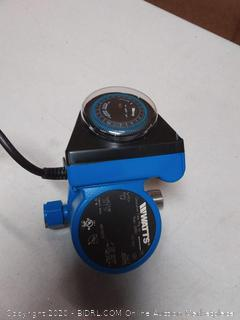 Watts circulation pump 60 hertz (powers on)
