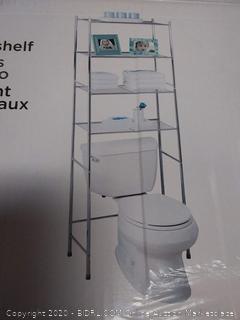 Honey-Can-Do 3-Tier Space Saver Shelf, Chrome 847539052816