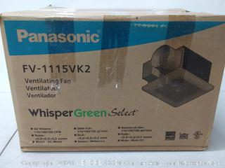 Panasonic FV 1115 vk2 ventilating fan