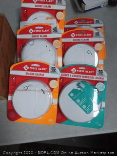 smoke alarm bundle - packages opened