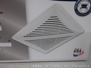 Broan InVent Series 2-Sone 80-CFM White Bathroom Fan AR80X