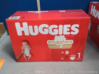 Huggies Little Snugglers Baby Diapers, Size 1