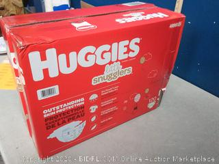 Huggies Little Snugglers Baby Diapers, Size 5, 120 Ct, One Month