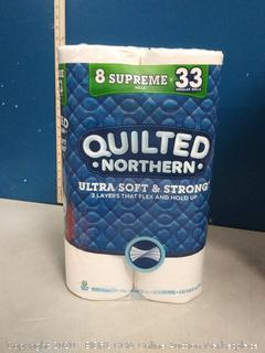 Quilted Northern Ultra Soft & strong 8 Supreme rolls