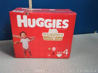 Huggies Little Snugglers Baby Diapers, Size 4, 140 Ct, One Month Supply