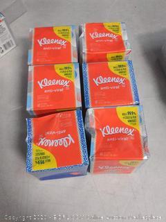 Kleenex Anti-Viral Facial Tissue 6 pack