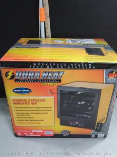 Dura Heat Electric Forced Air Heater with Remote Control